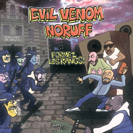 Album cd Evil Venom & Noruf