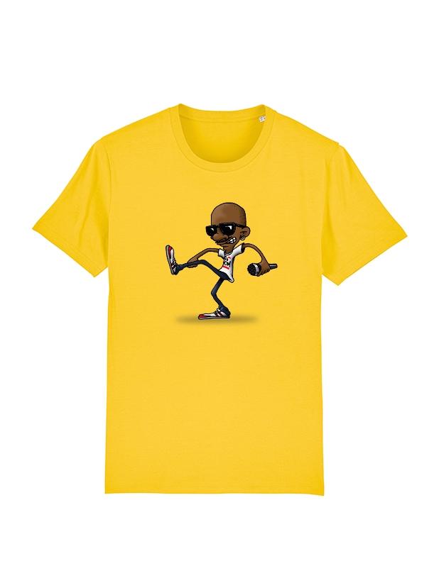 Tshirt Yedi 1 Jaune