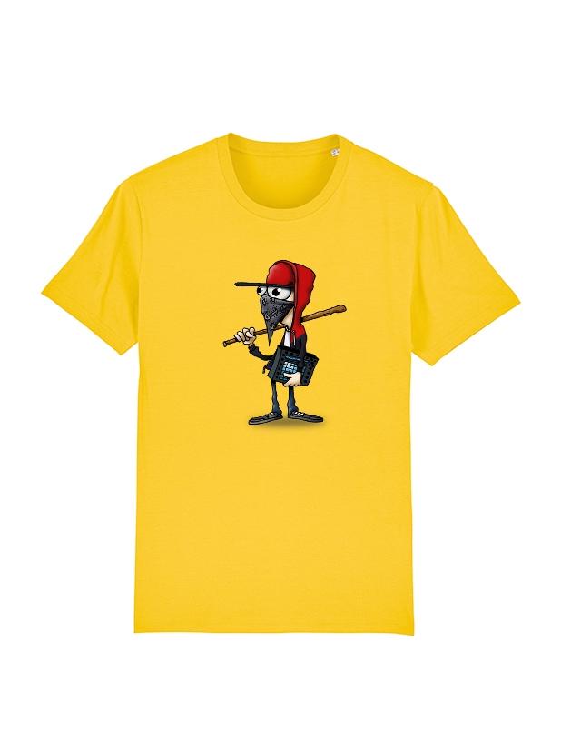 Tshirt Yedi 3 Jaune