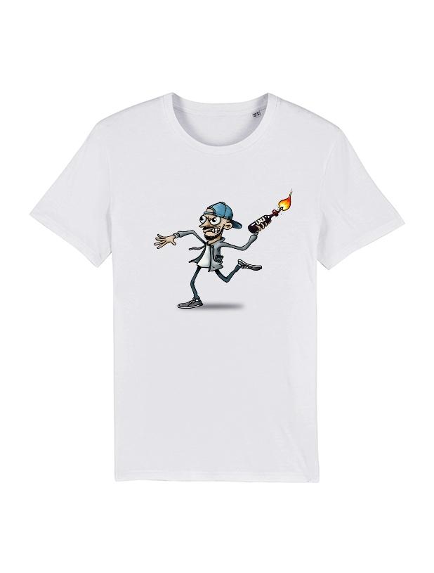 Tshirt Yedi 4 Blanc