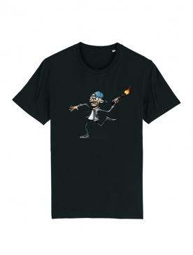Tshirt Yedi 4 Noir