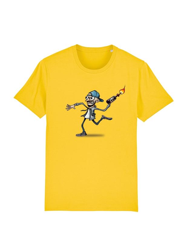 Tshirt Yedi 4 Jaune