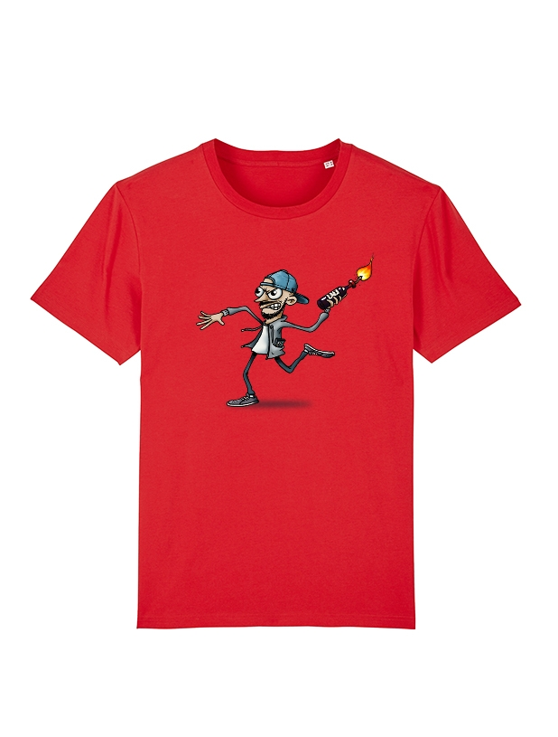 Tshirt Yedi 4 Rouge