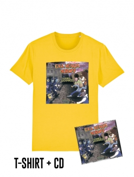 Pack Cd + Tshirt Formez les rangs Jaune