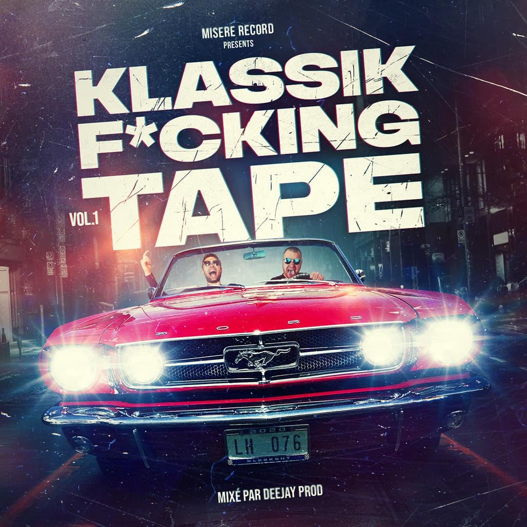 """Album Cd """"Misère Record - Klassik F*cking tape"""""""