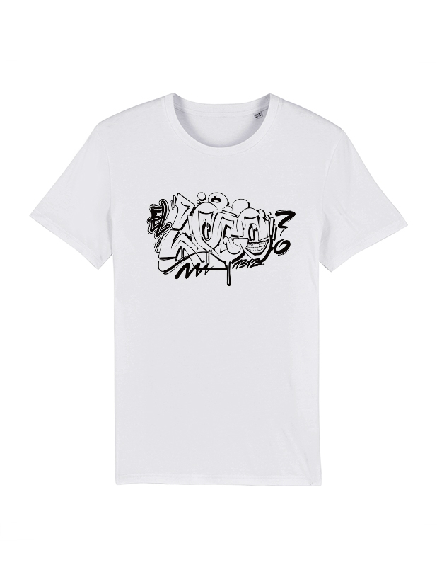 Tshirt Blanc Frenchstoner X El Loco 5