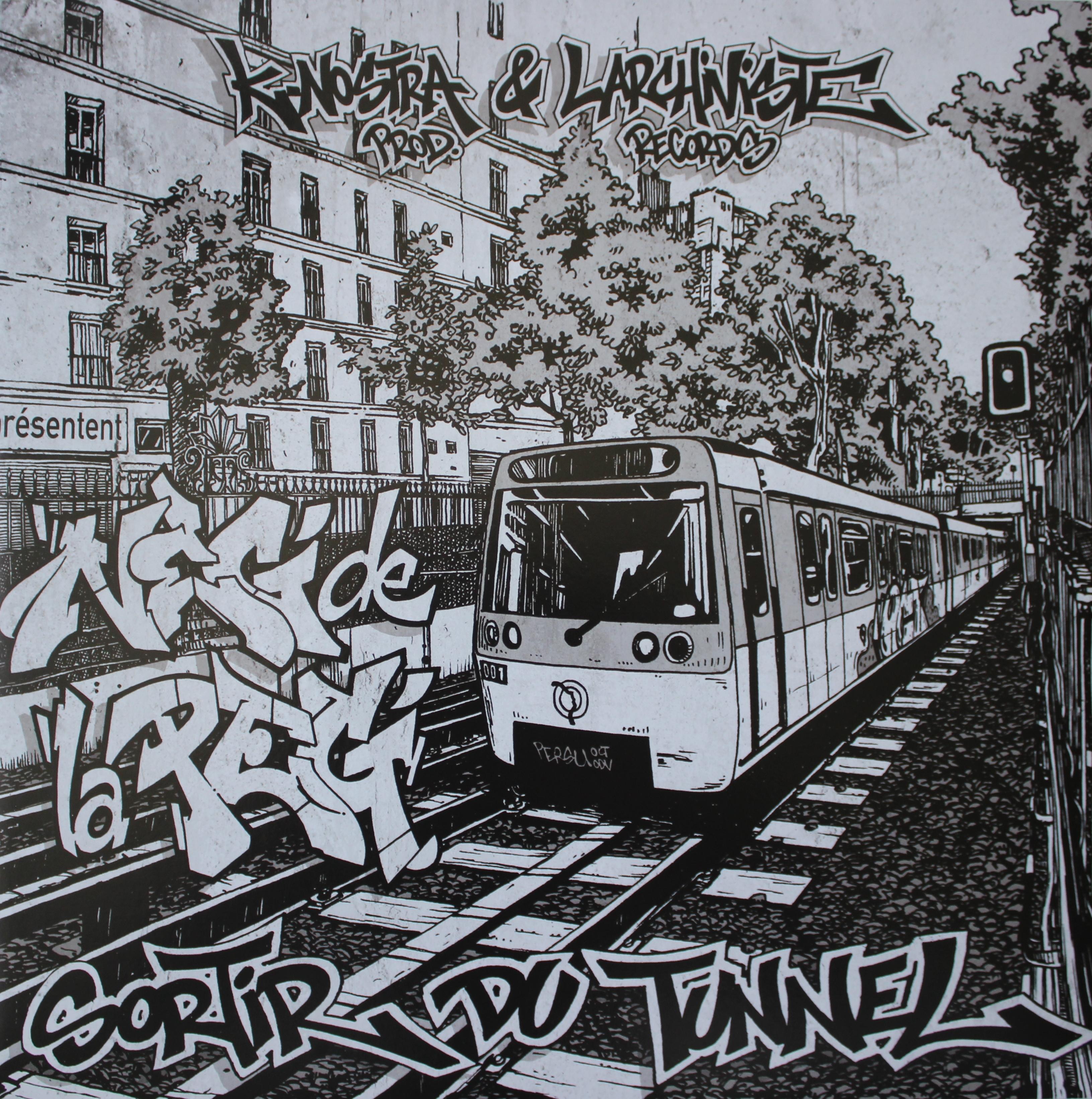 """Album vinyle """"Neg de la peg - Sortir du tunnel"""""""