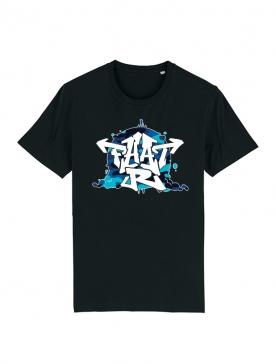 T-shirt Fhat-R Graff Camo Bleu