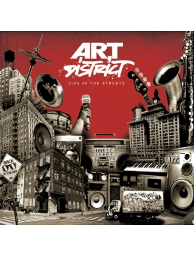 Album Cd Art district - Live in the streets