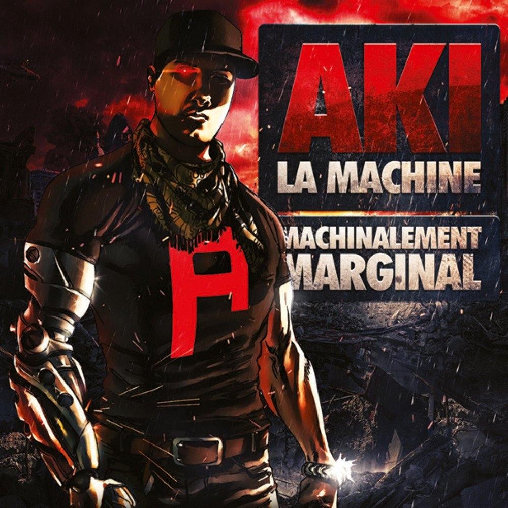 "Album Cd Aki la Machine ""Machinalement Marginal"""