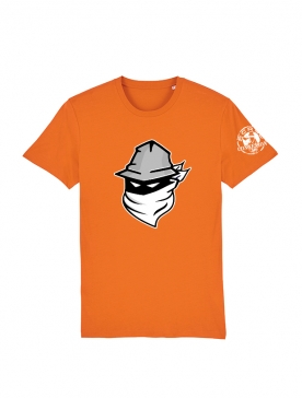 Tshirt Scred Orange Visage 2020