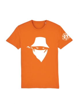 Tshirt Scred Orange Visage