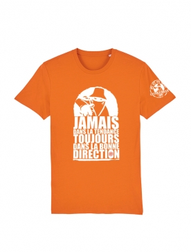 Tshirt Scred Orange Jamais