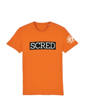 Tshirt Scred Orange Scred Typo