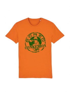 Tshirt Scred Orange Classico Vert